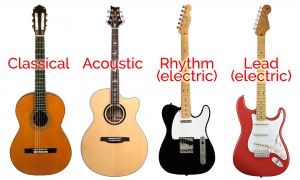 Type of Guitar