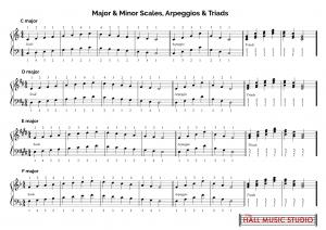 major-minor-scales